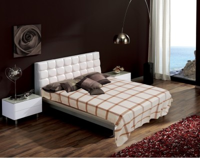 Raymond Home Checkered Double Quilts & Comforters Brown