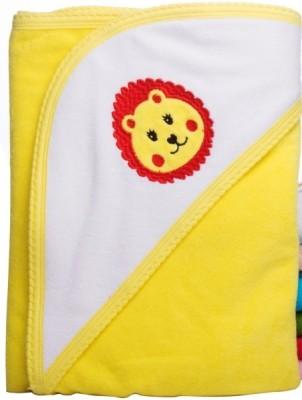 Manorath Plain Crib Blanket Yellow
