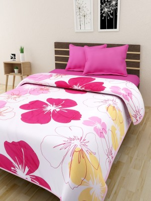 The Home Story Floral Queen Quilts & Comforters Multicolor