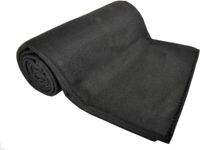 Kema Plain Single Blanket Black