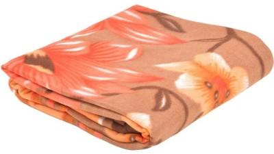 Saksham Floral Double Blanket Multicolor