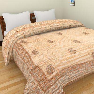 Anvi Impex Printed Double Quilts & Comforters Multicolor