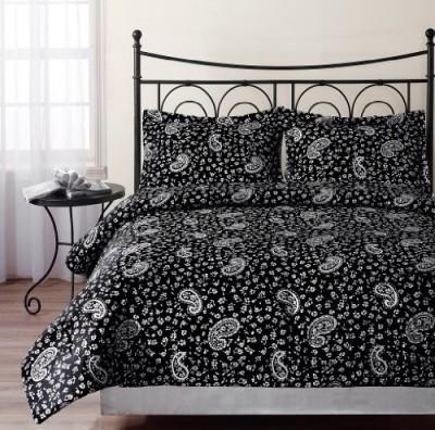 Chezmoi Collection Paisley Black/White