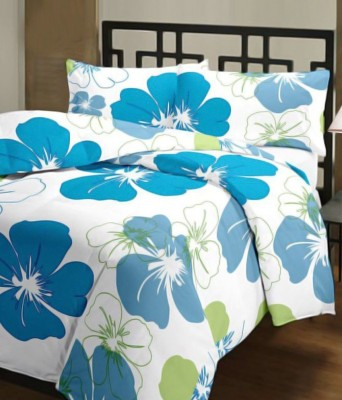 Razaiwala Floral Single Dohar Blue