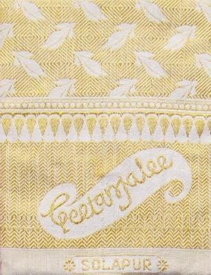 Geetanjalee Floral Single Top Sheet Gold
