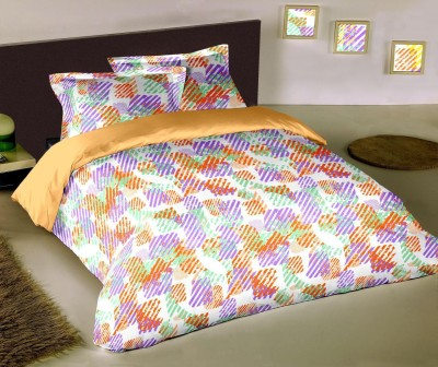 Raymond Home Abstract Double Quilts & Comforters Orange