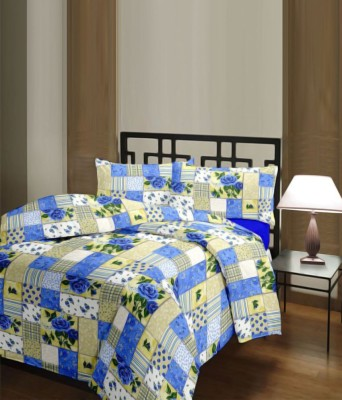The Home Story Checkered Single Dohar Multicolor