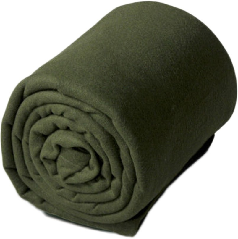 GOYAL FASHIONS Plain Single Blanket Green