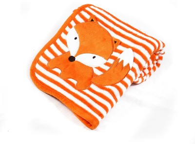 Baby Oodles Motifs Crib Crib Baby Blanket Orange