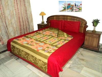Amita Home Furnishing Floral Single Blanket Multicolor