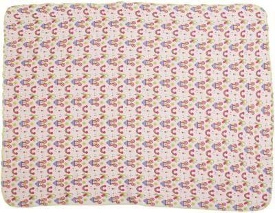 Nino Bambino Printed Single Blanket Light Pink