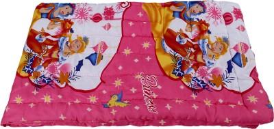 Jain International Cartoon Single Quilts & Comforters Pink
