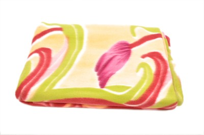 Brndey Floral Single Blanket Multicolor