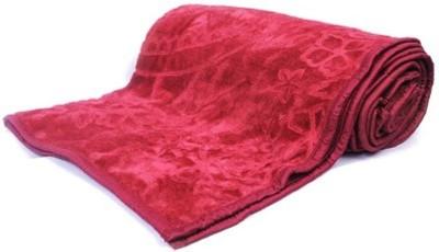 Monil Floral Single Dohar Red