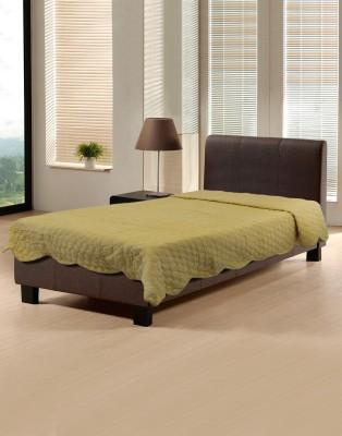 Needlecrest Plain Single Quilts & Comforters Yellow