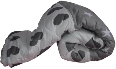 Art-Tickles Geometric Single Quilts & Comforters White, Grey