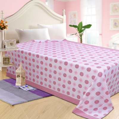 The Intellect Bazaar Geometric Single Top Sheet Pink