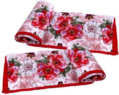 IndiStar Floral Single Dohar Red