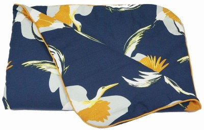 Wobbly Walk Animal Single Quilts & Comforters Blue