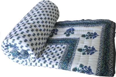 Shop Rajasthan Paisley Double Quilts & Comforters Multicolor