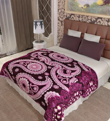 Home Candy Paisley Double Blanket Multicolor