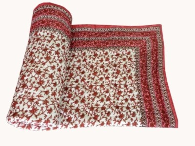 Ruchiworld Floral Single Quilts & Comforters Multicolor