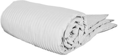 Feel Soft Striped King Dohar White