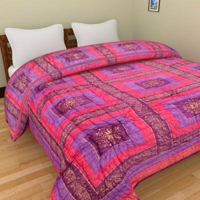 Rangasthali Geometric Double Quilts & Comforters Multi Colour