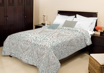 Bombay Dyeing Floral Single Blanket Grey