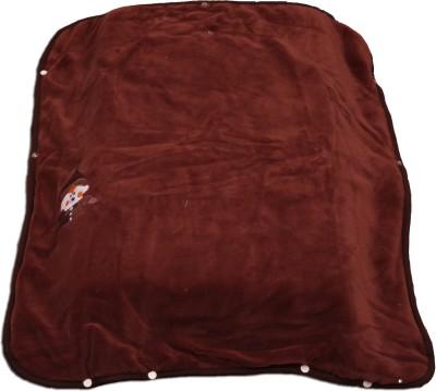 Ktm Home Boutique Plain Single Blanket Brown