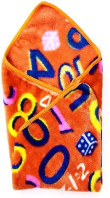 Casa Confort Abstract Single Blanket Orange