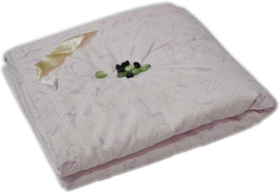 The Intellect Bazaar Floral Double Quilts & Comforters Pink