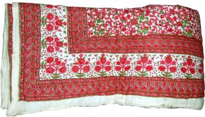 Mahadev Handicrafts Floral Double Quilts & Comforters Multicolor