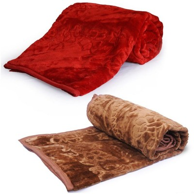 Tiajria Printed Single Blanket Maroon
