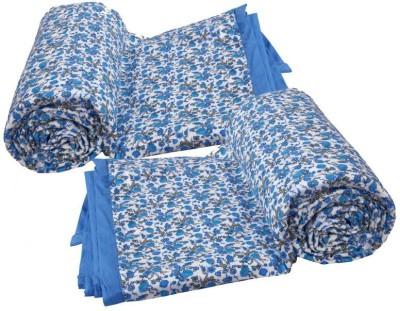 IndiStar Printed Single Dohar Blue