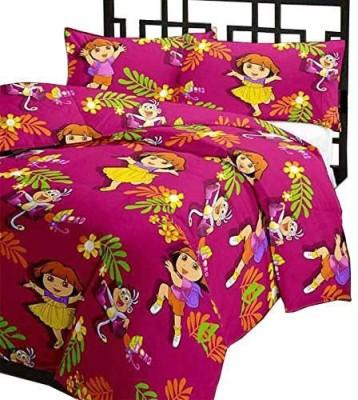 Renown Cartoon Single Blanket Pink