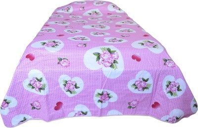 Indian Rack Floral Single Quilts & Comforters Pink, White
