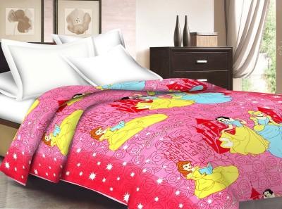 Ridan Cartoon Single Dohar Pink