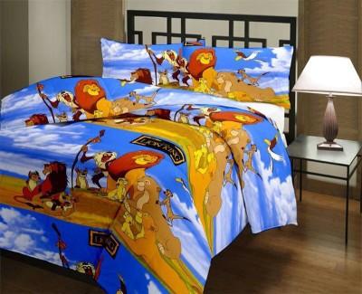 Blankets World Cartoon Single Dohar Multicolor
