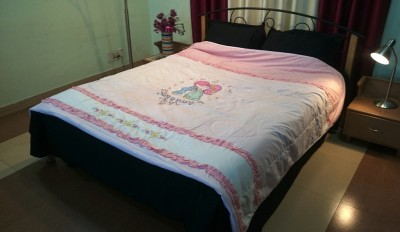 Jojo Designs Cartoon Double Quilts & Comforters Pink
