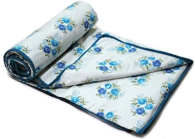 Ostata Floral Single Dohar Blue