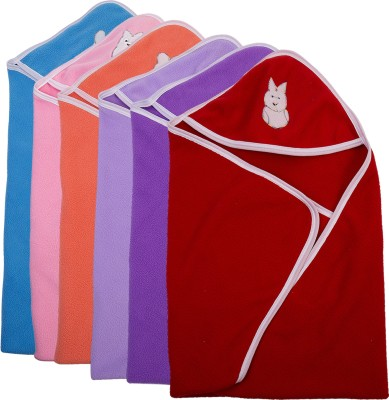 Utc Garments Plain Single Blanket Pink, Red, Purple, Orange, Blue