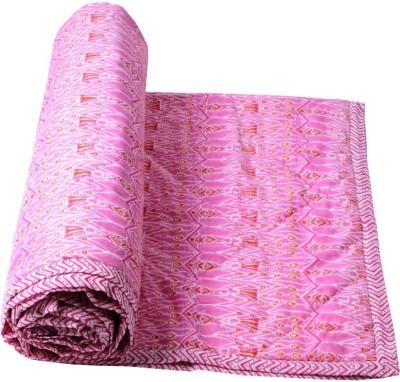 Samradhi Floral Single Quilts & Comforters Pink