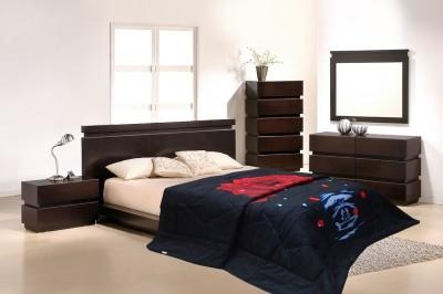 Wrap Floral Double Quilts & Comforters Black