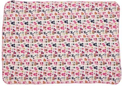 Nino Bambino Animal Single Blanket Light Pink