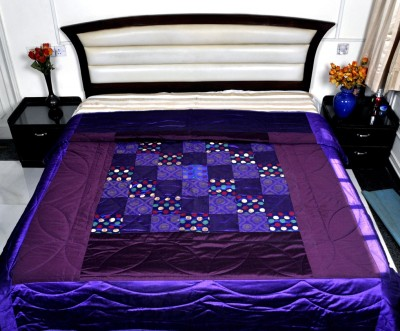 Lal Haveli Abstract Double Quilts & Comforters Green