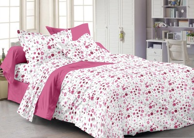Story @ Home Floral Double Quilts & Comforters White