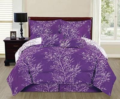 SALLY TEXTILES INC Floral Purple