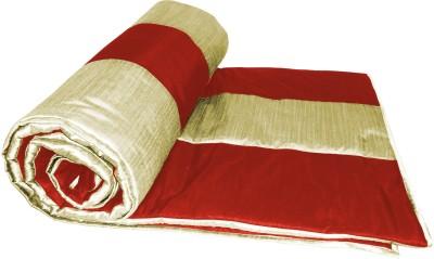 Zikrak Exim Checkered Queen Blanket Beige, Beige