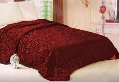 Welhouse Floral Single Quilts & Comforters Maroon